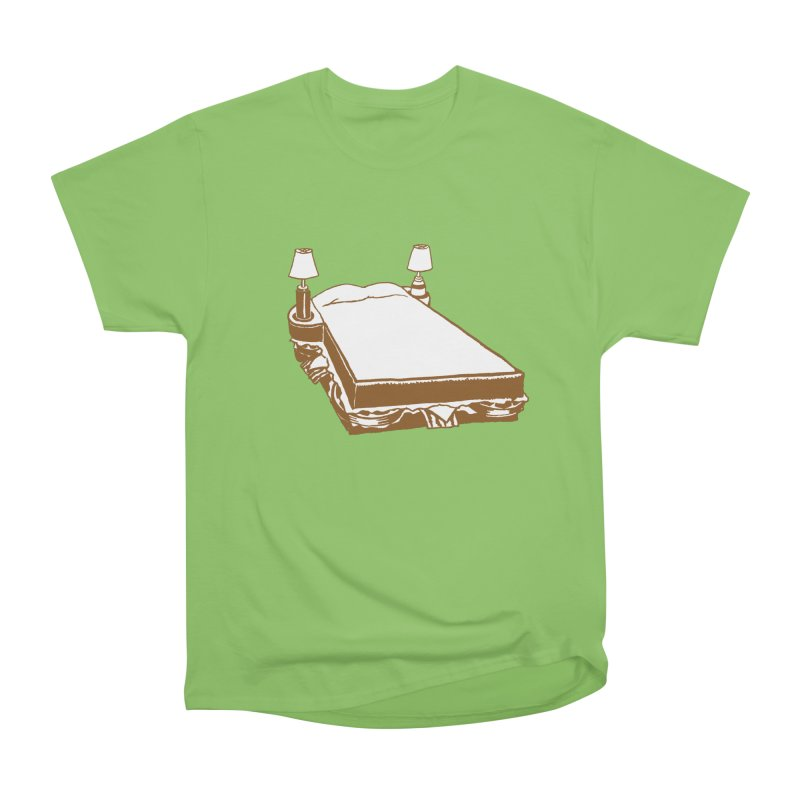 Sandwich Bed Women's Heavyweight Unisex T-Shirt by mattiemac's Artist Shop