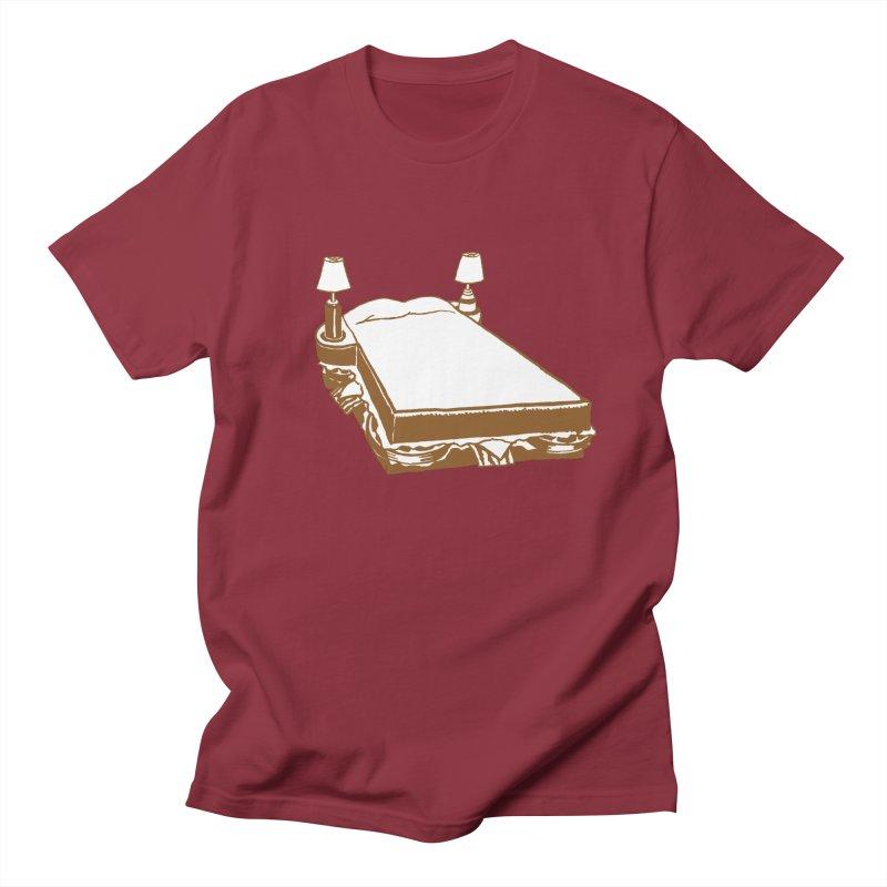 Sandwich Bed Women's Regular Unisex T-Shirt by Matt MacFarland