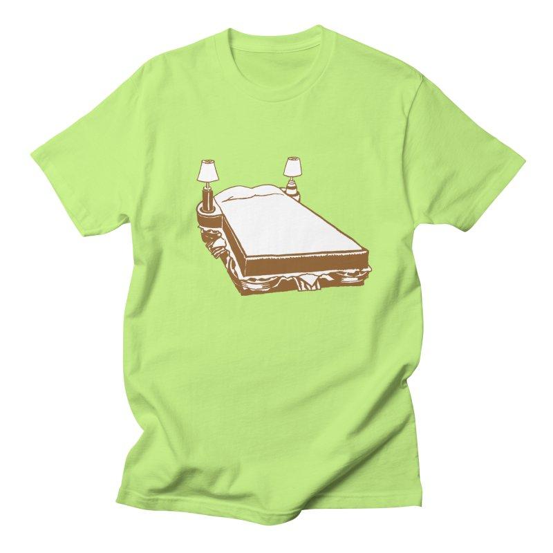 Sandwich Bed Men's Regular T-Shirt by Matt MacFarland