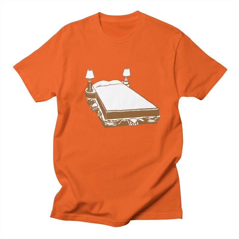 Sandwich Bed Men's Regular T-Shirt by Matt MacFarland