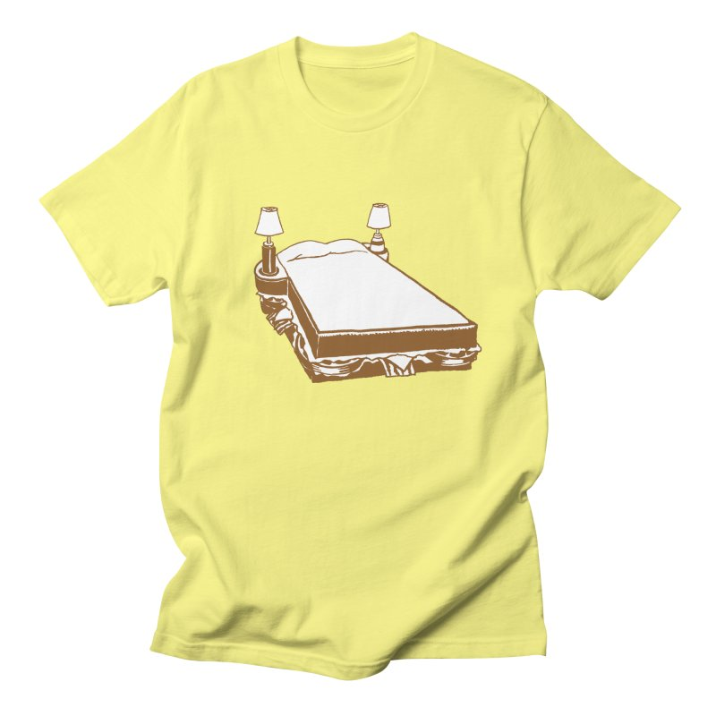 Sandwich Bed Women's Regular Unisex T-Shirt by Matt MacFarland