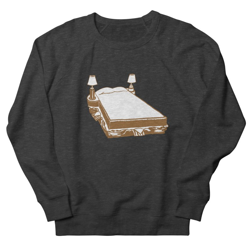 Sandwich Bed Women's French Terry Sweatshirt by Matt MacFarland