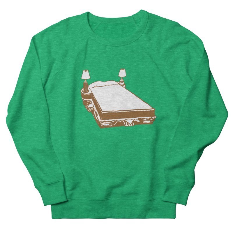 Sandwich Bed Men's Sweatshirt by Matt MacFarland