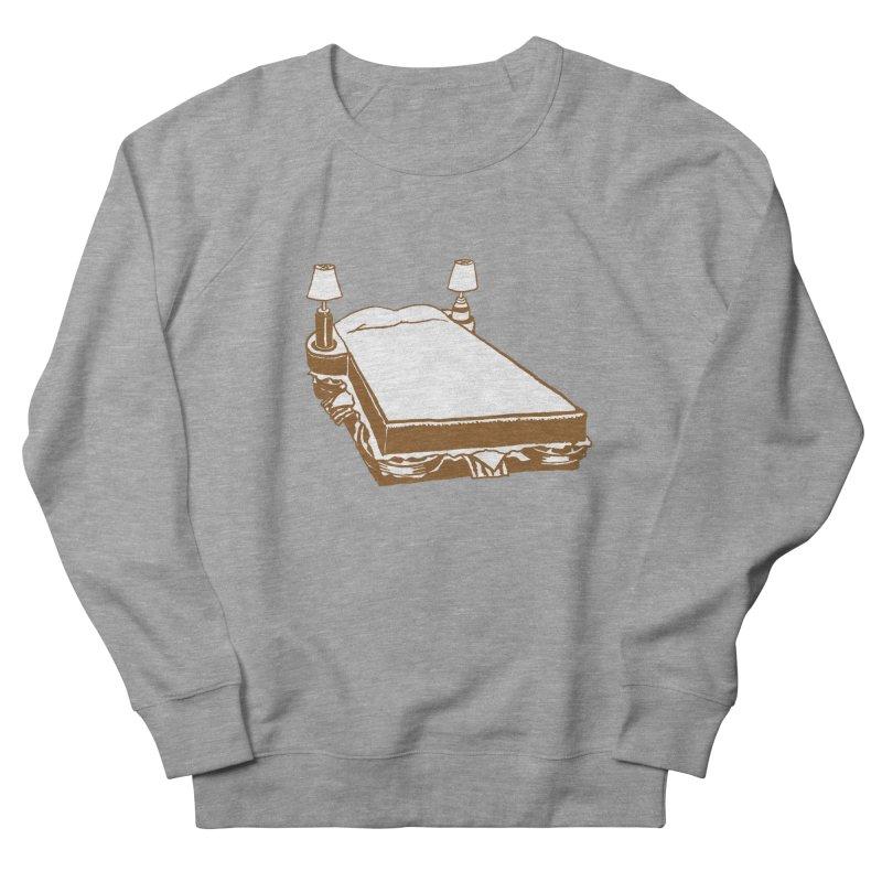 Sandwich Bed Men's French Terry Sweatshirt by Matt MacFarland