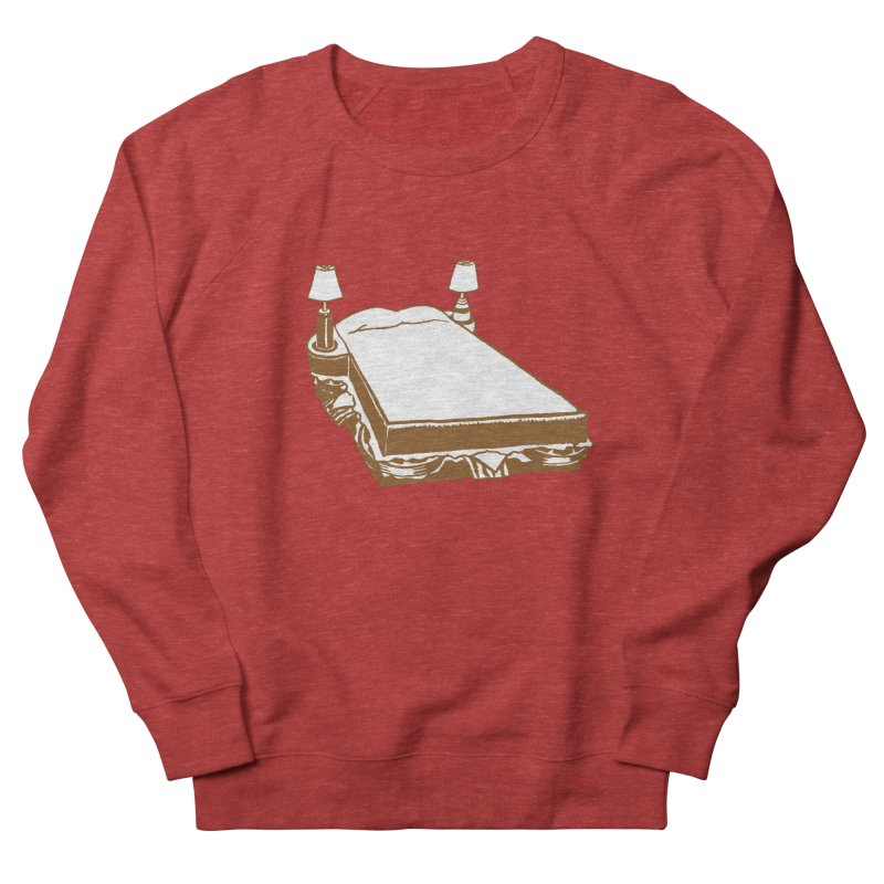 Sandwich Bed Men's French Terry Sweatshirt by Matt MacFarland