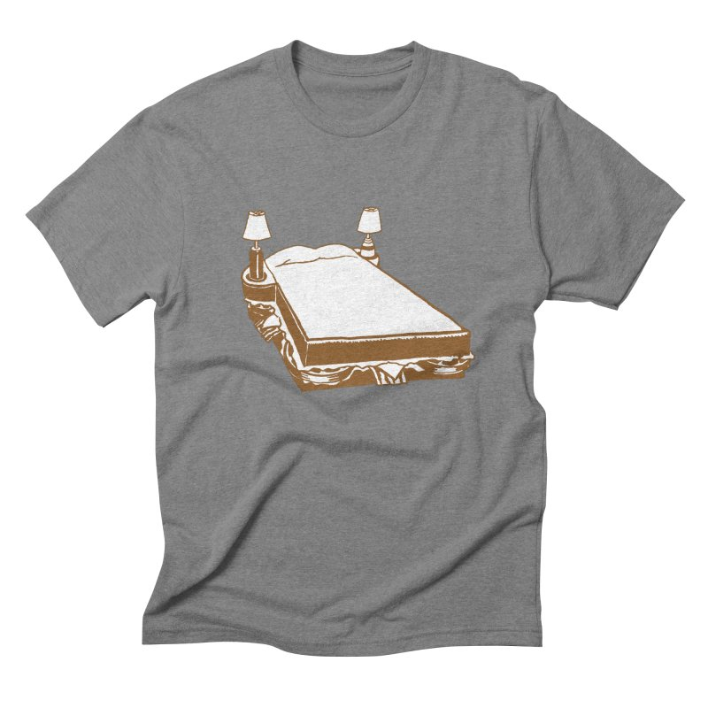 Sandwich Bed Men's Triblend T-Shirt by Matt MacFarland