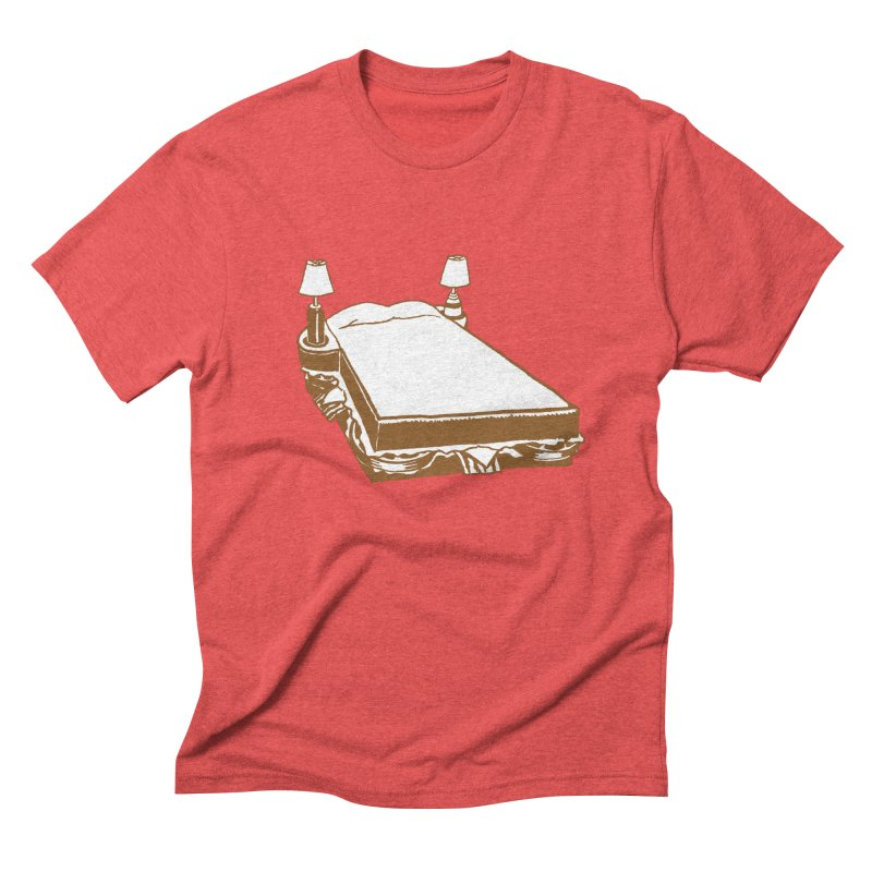 Sandwich Bed Men's Triblend T-Shirt by Matt MacFarland