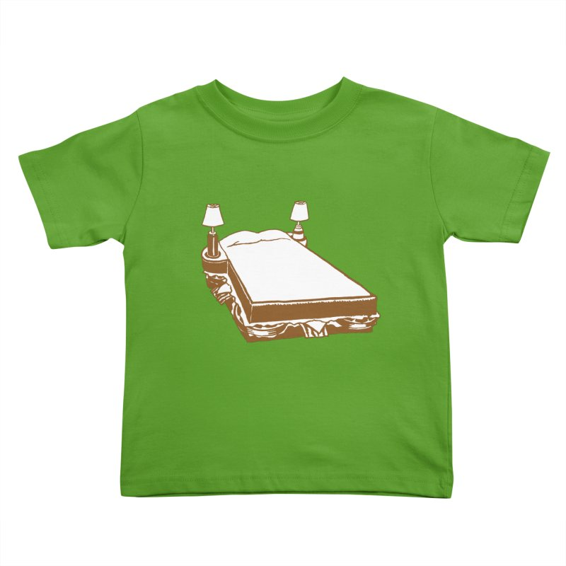 Sandwich Bed Kids Toddler T-Shirt by Matt MacFarland
