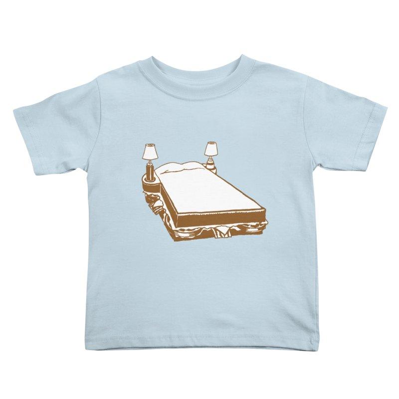 Sandwich Bed Kids Toddler T-Shirt by Matt MacFarland
