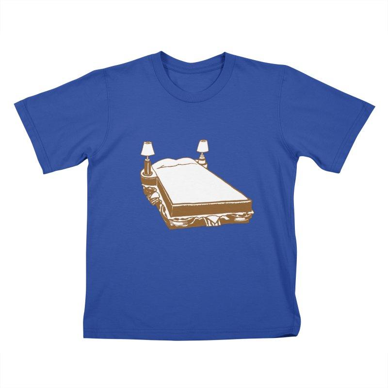Sandwich Bed Kids T-Shirt by Matt MacFarland