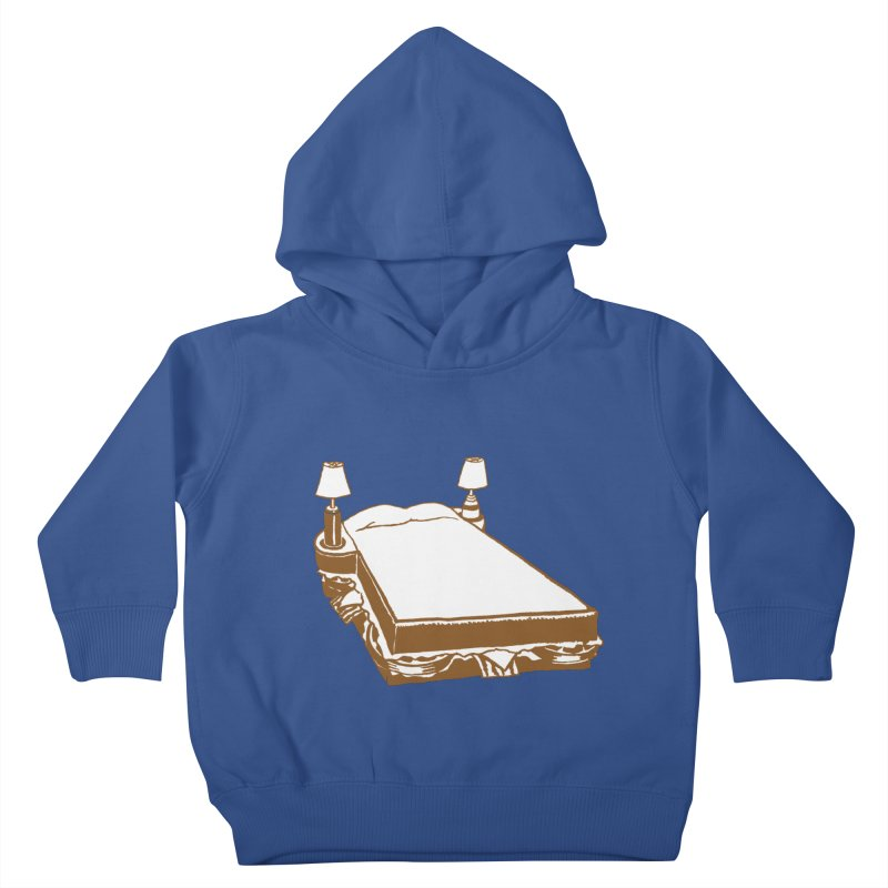Sandwich Bed Kids Toddler Pullover Hoody by Matt MacFarland