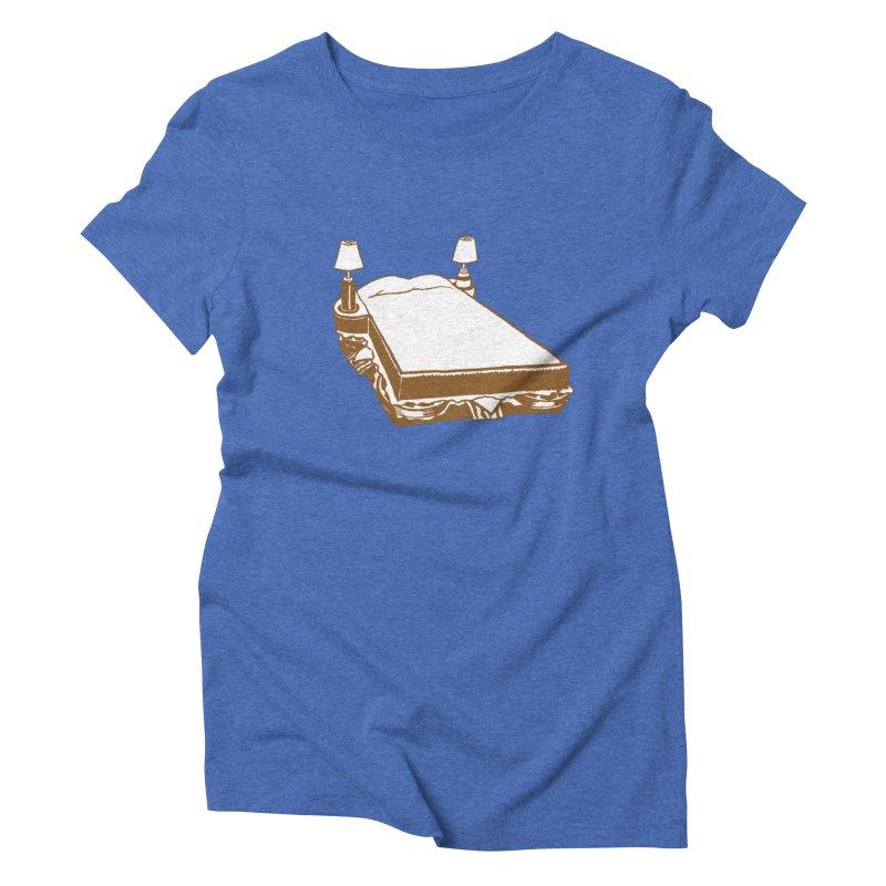 Sandwich Bed Women's Triblend T-Shirt by Matt MacFarland
