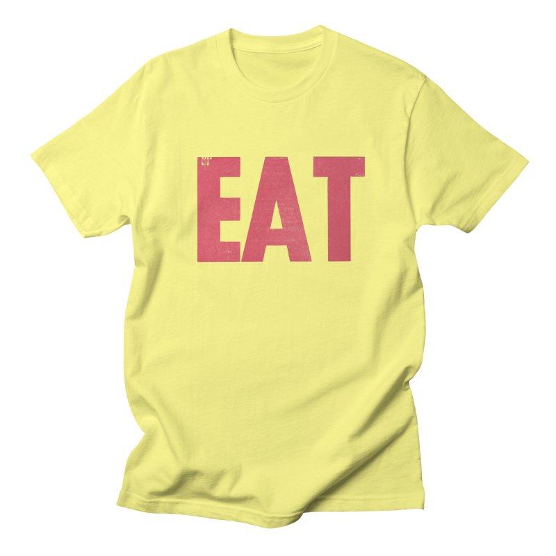 EAT Men's T-Shirt by Matt MacFarland