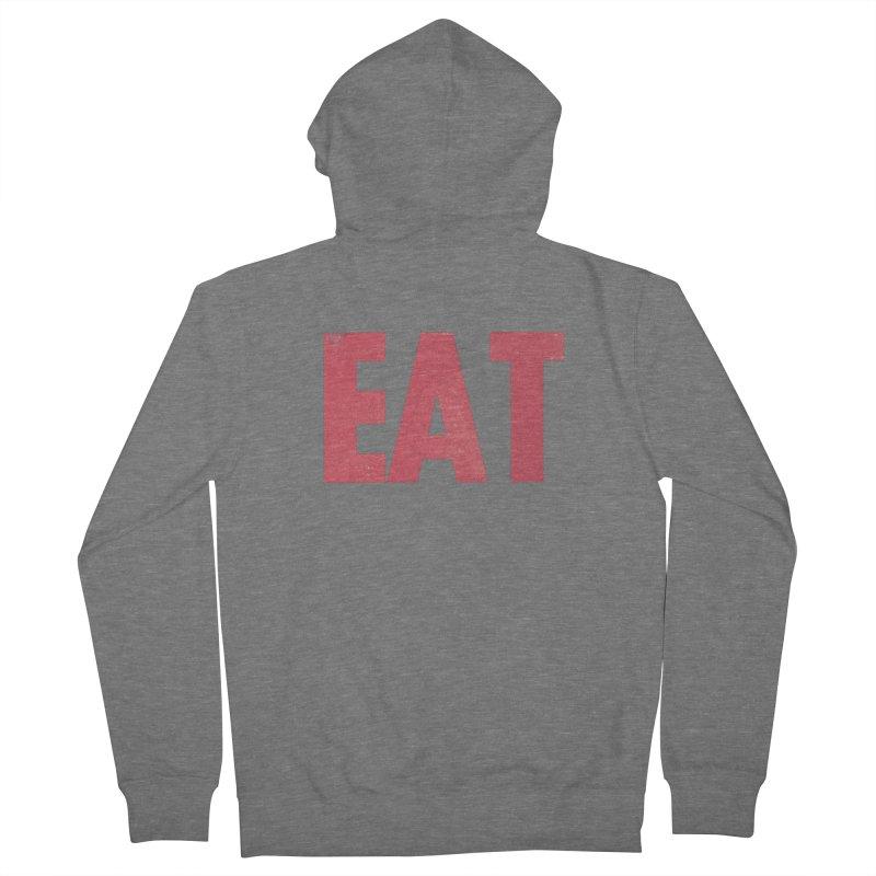 EAT Men's Zip-Up Hoody by Matt MacFarland