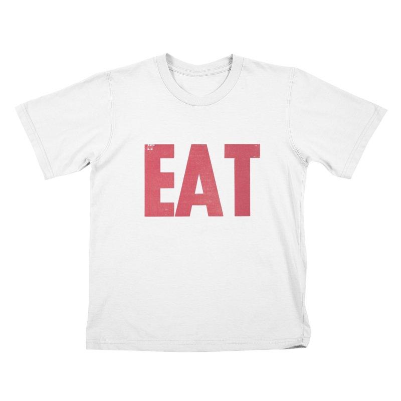 EAT Kids T-Shirt by Matt MacFarland