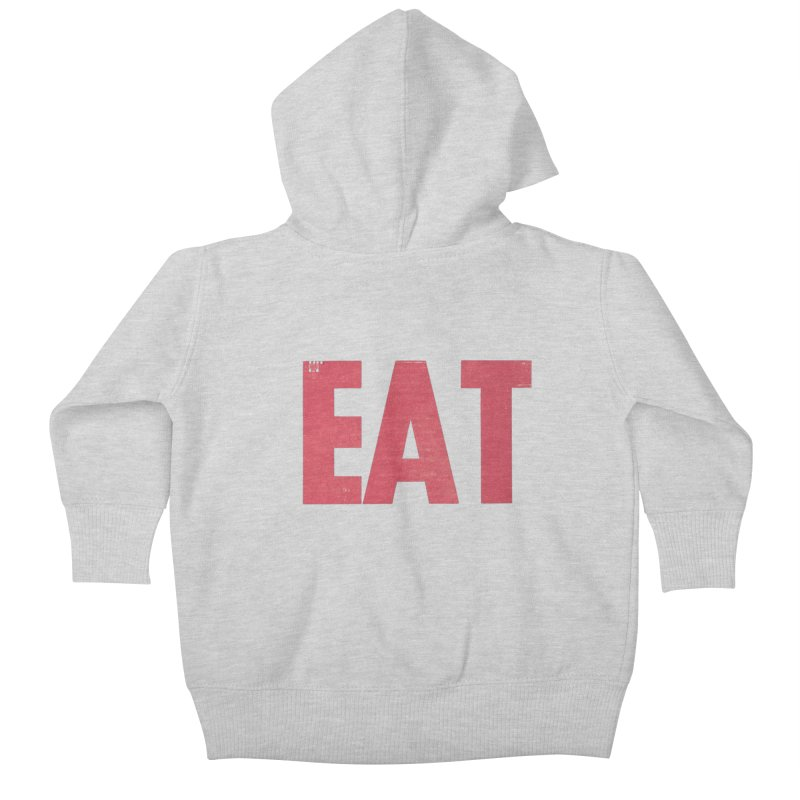 EAT Kids Baby Zip-Up Hoody by Matt MacFarland