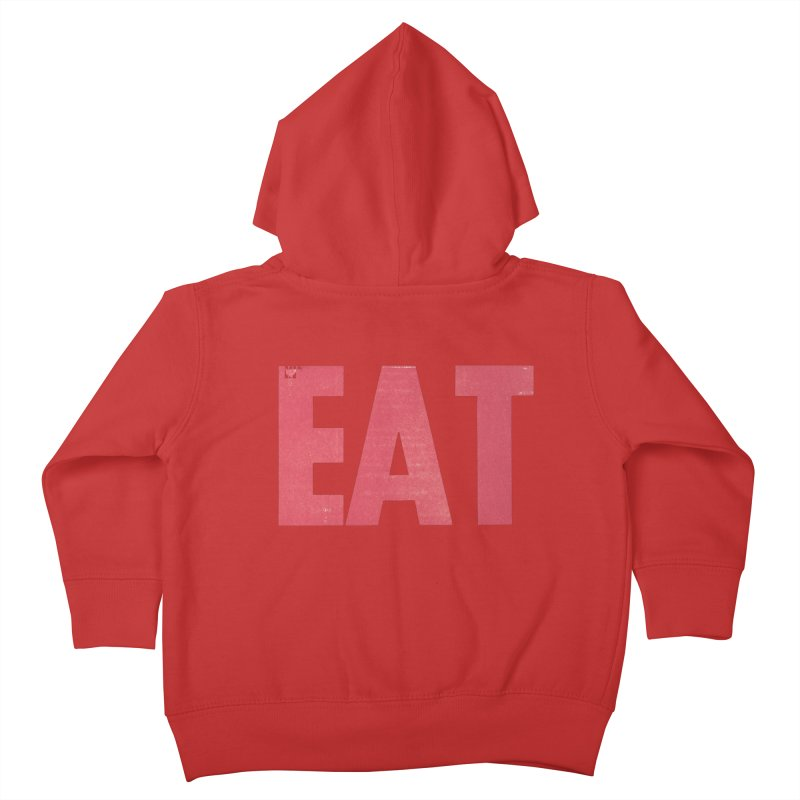 EAT Kids Toddler Zip-Up Hoody by Matt MacFarland