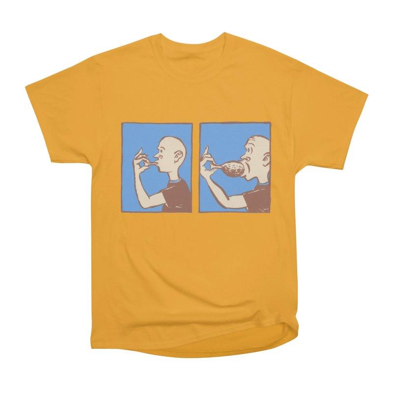 Reverse Consumption Men's Heavyweight T-Shirt by Matt MacFarland