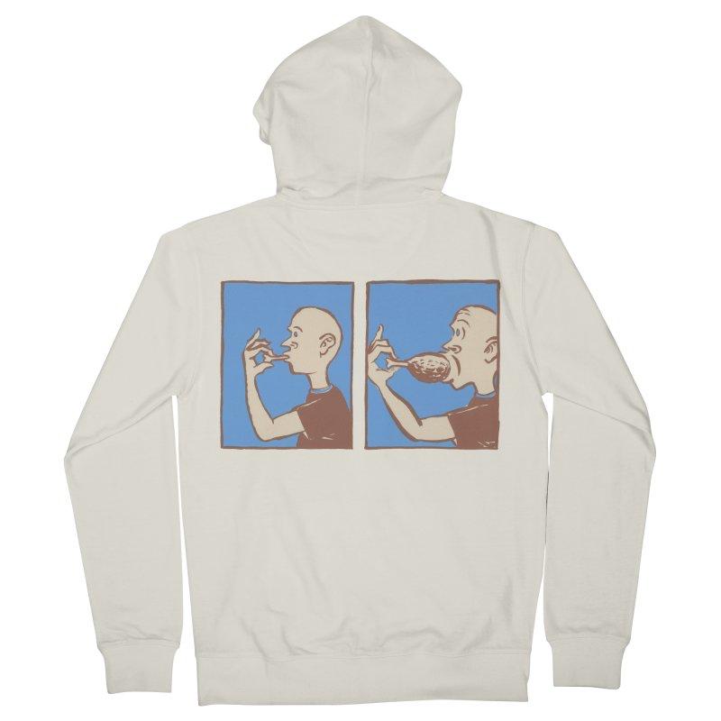 Reverse Consumption Men's French Terry Zip-Up Hoody by Matt MacFarland