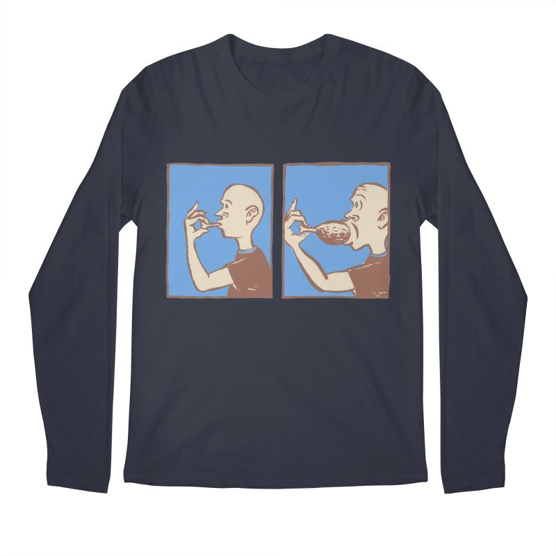 Reverse Consumption Men's Regular Longsleeve T-Shirt by Matt MacFarland