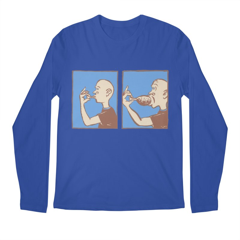 Reverse Consumption Men's Regular Longsleeve T-Shirt by mattiemac's Artist Shop