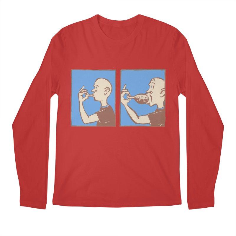 Reverse Consumption Men's Regular Longsleeve T-Shirt by Matt MacFarland