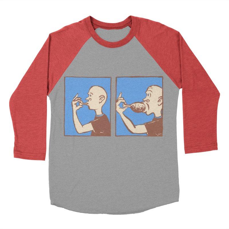 Reverse Consumption Men's Baseball Triblend Longsleeve T-Shirt by mattiemac's Artist Shop