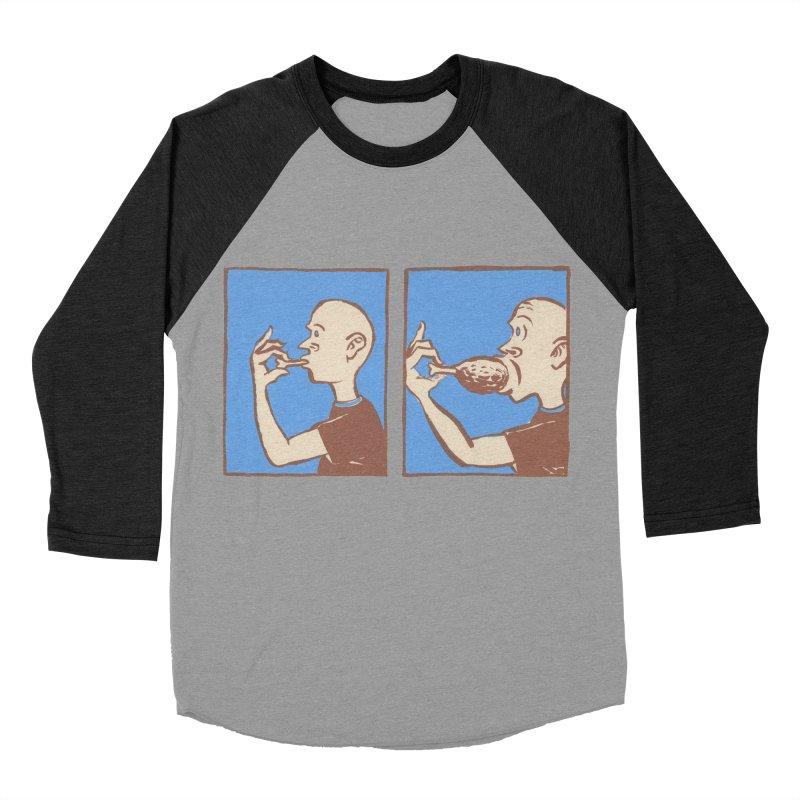 Reverse Consumption Men's Baseball Triblend Longsleeve T-Shirt by Matt MacFarland
