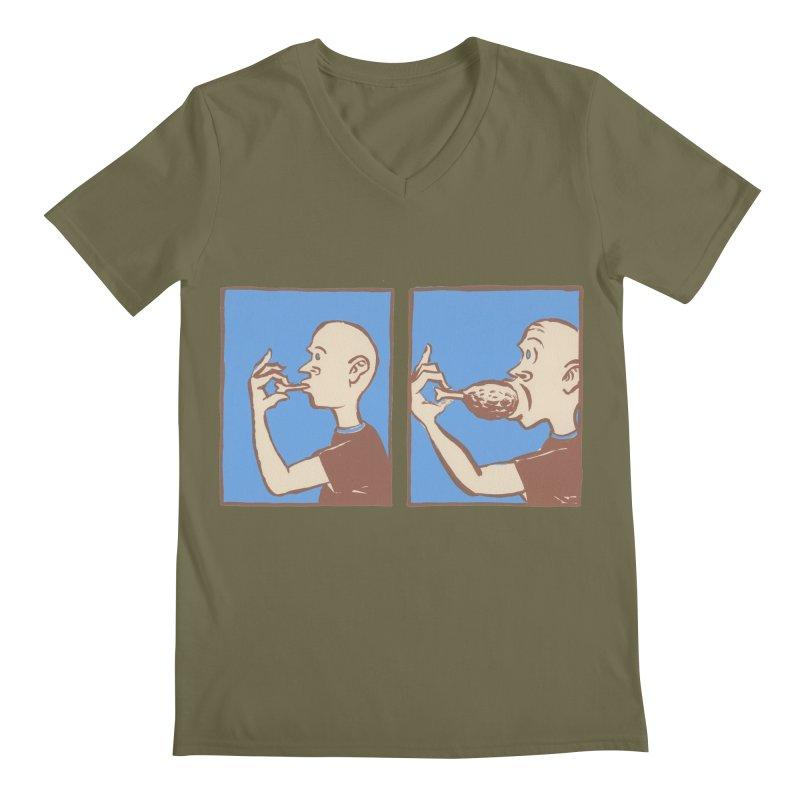 Reverse Consumption Men's V-Neck by Matt MacFarland