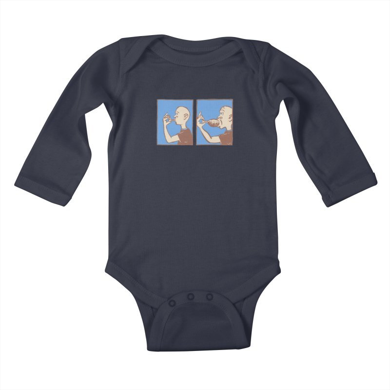 Reverse Consumption Kids Baby Longsleeve Bodysuit by Matt MacFarland
