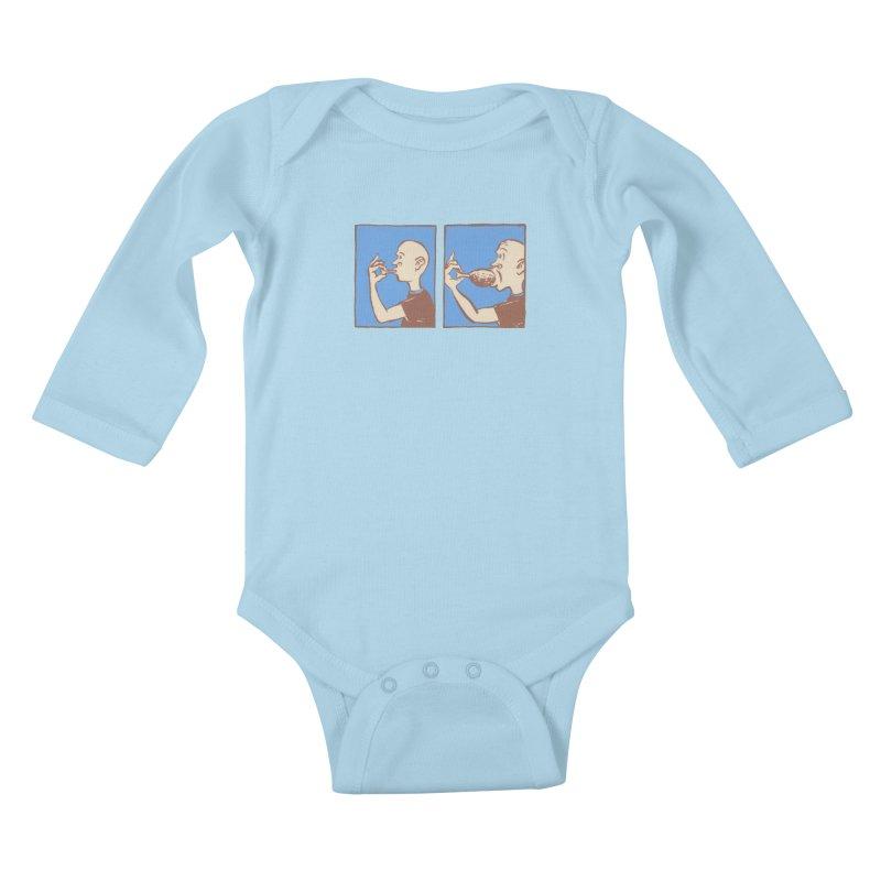 Reverse Consumption Kids Baby Longsleeve Bodysuit by Matt MacFarland