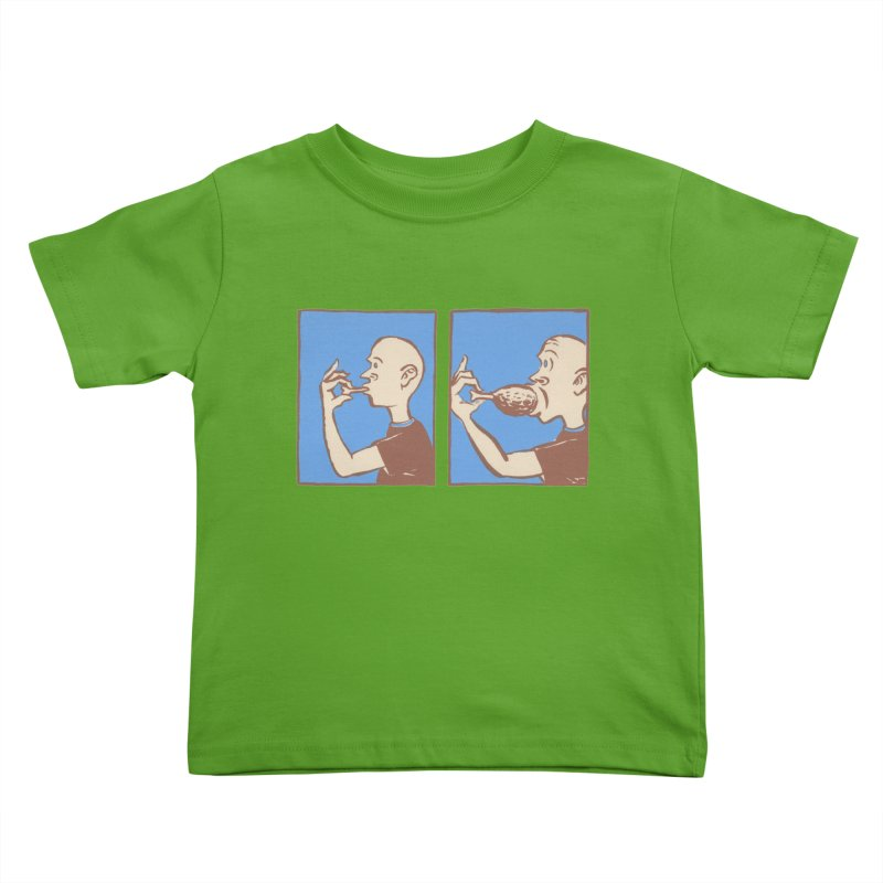 Reverse Consumption Kids Toddler T-Shirt by Matt MacFarland