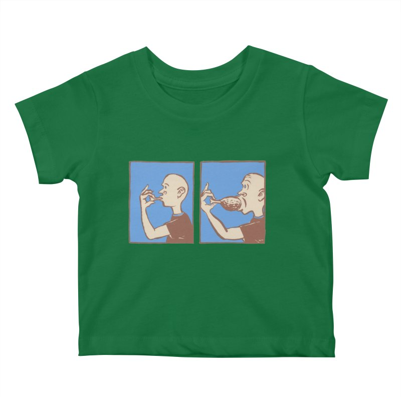 Reverse Consumption Kids Baby T-Shirt by Matt MacFarland