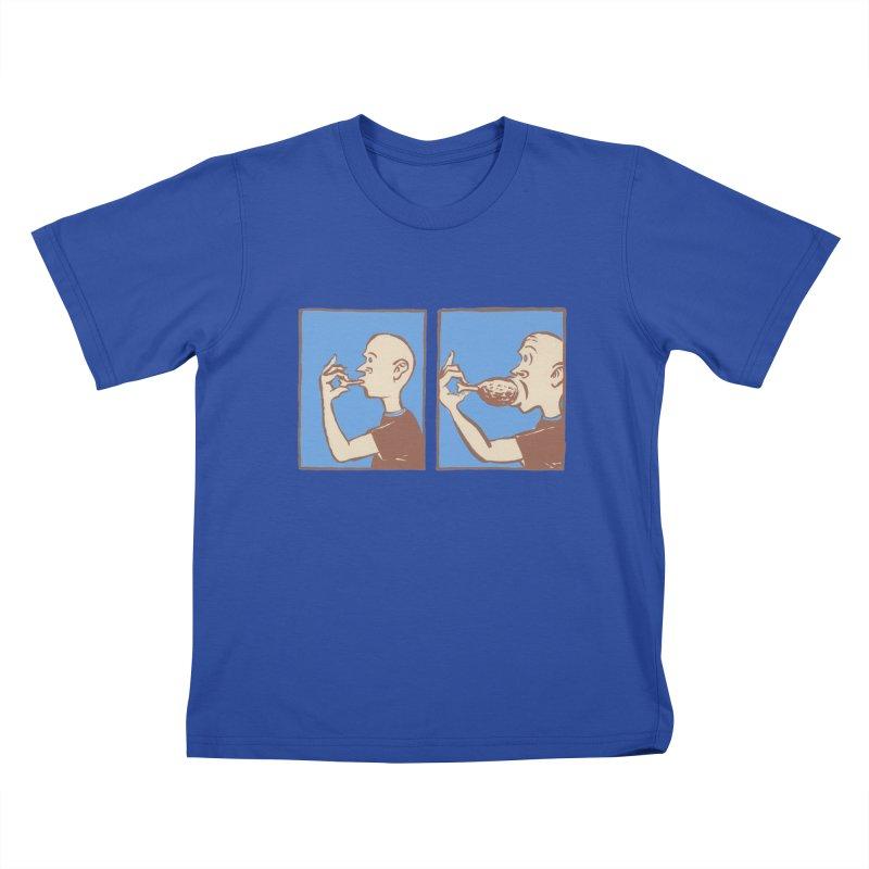 Reverse Consumption Kids T-Shirt by mattiemac's Artist Shop
