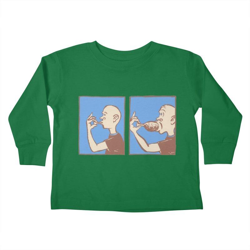 Reverse Consumption Kids Toddler Longsleeve T-Shirt by mattiemac's Artist Shop