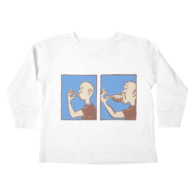 Reverse Consumption Kids Toddler Longsleeve T-Shirt by Matt MacFarland