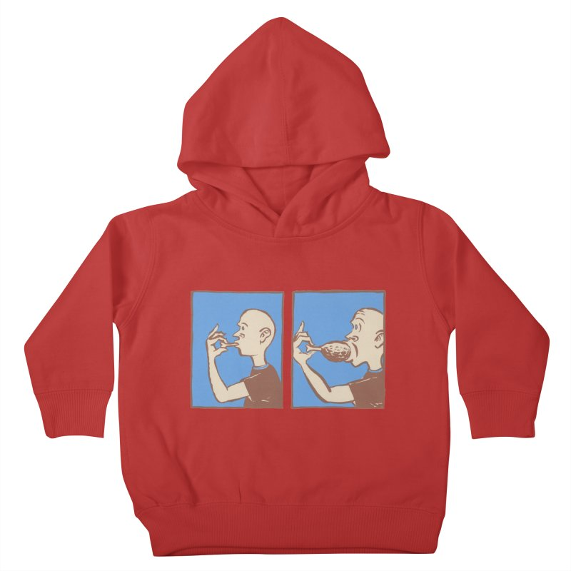 Reverse Consumption Kids Toddler Pullover Hoody by mattiemac's Artist Shop