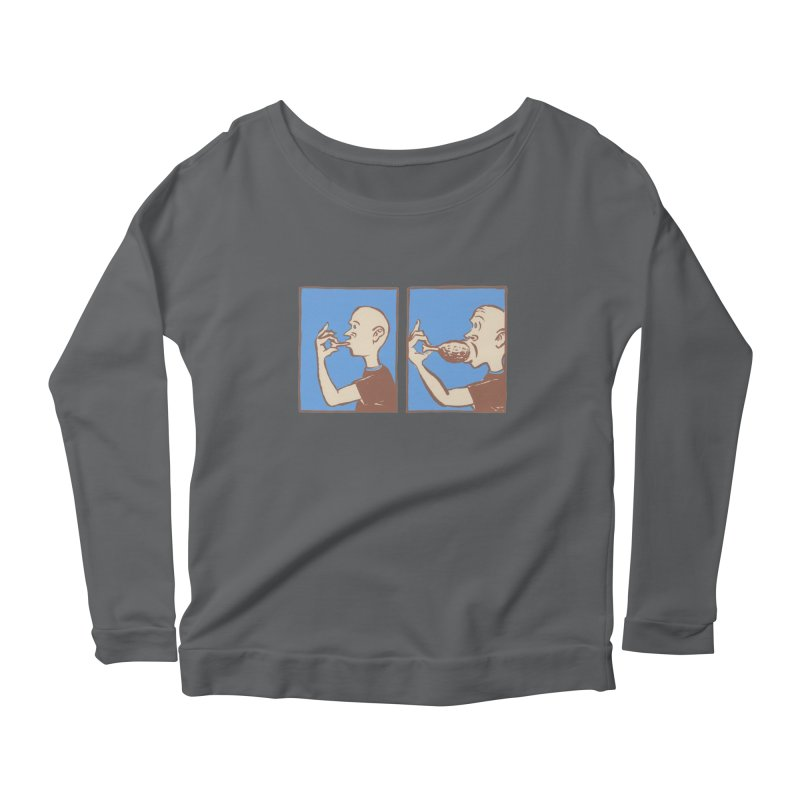 Reverse Consumption Women's Longsleeve T-Shirt by Matt MacFarland