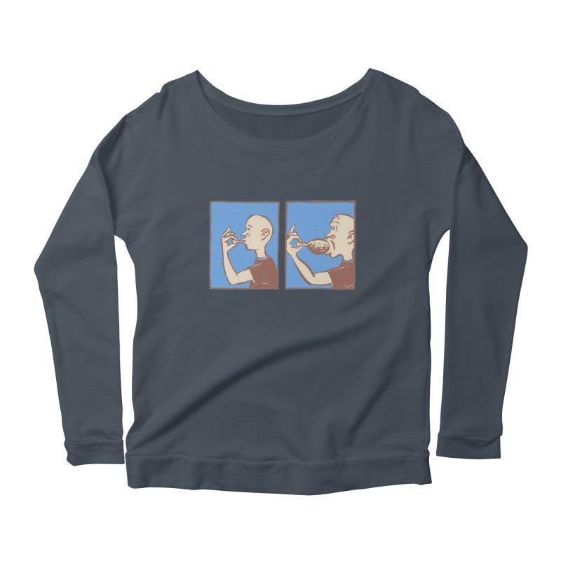 Reverse Consumption Women's Scoop Neck Longsleeve T-Shirt by Matt MacFarland