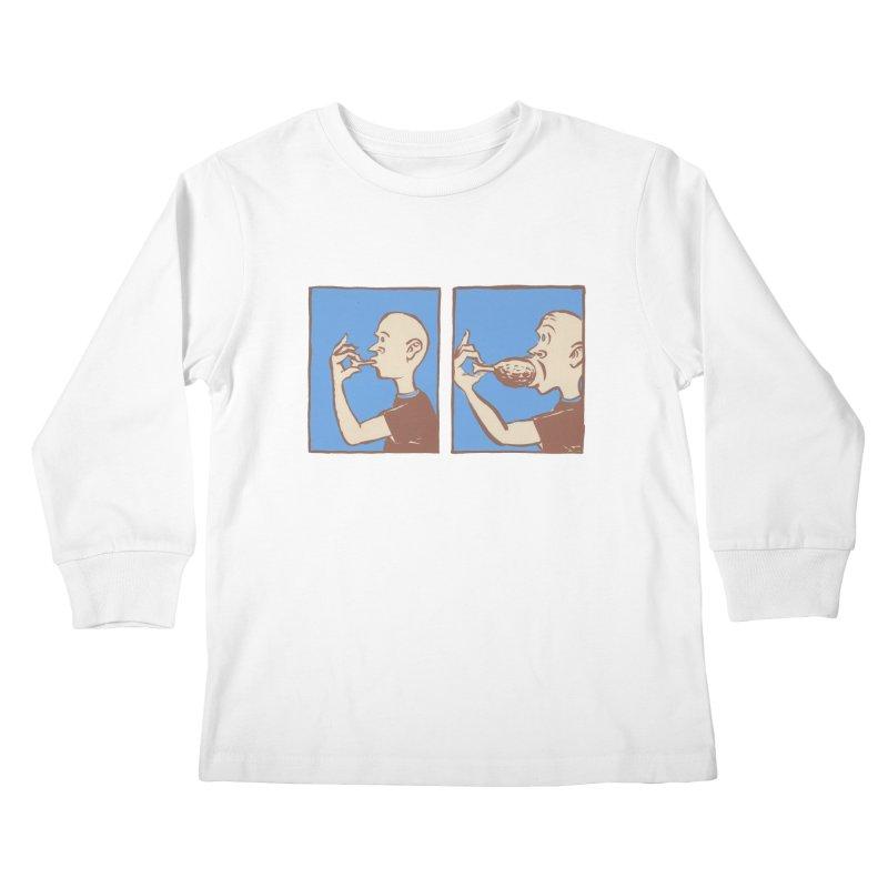 Reverse Consumption Kids Longsleeve T-Shirt by Matt MacFarland