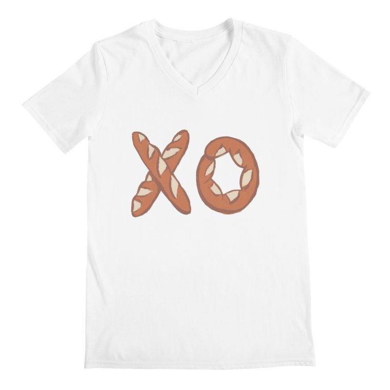 XO Men's V-Neck by Matt MacFarland