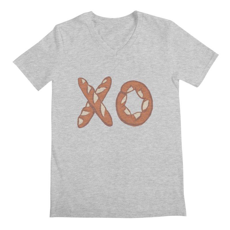 XO Men's V-Neck by Matt MacFarland
