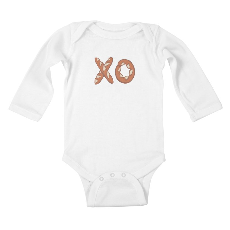 XO Kids Baby Longsleeve Bodysuit by mattiemac's Artist Shop