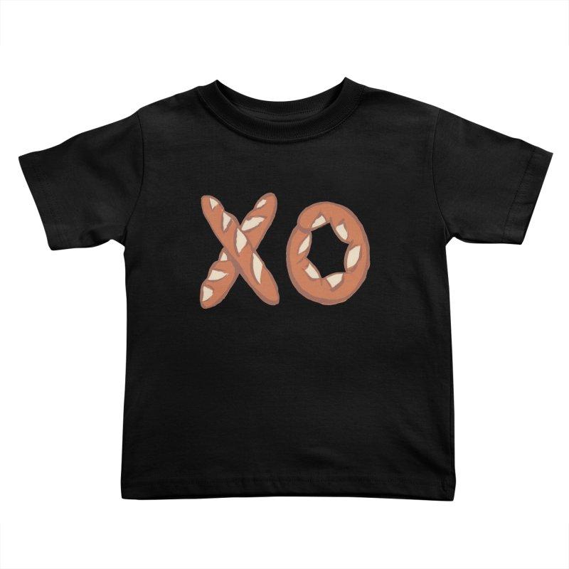 XO Kids Toddler T-Shirt by mattiemac's Artist Shop