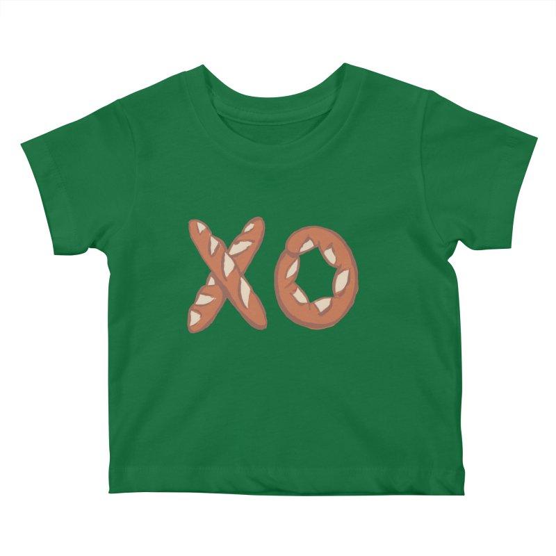 XO Kids Baby T-Shirt by Matt MacFarland