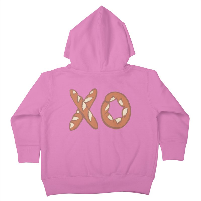 XO Kids Toddler Zip-Up Hoody by mattiemac's Artist Shop