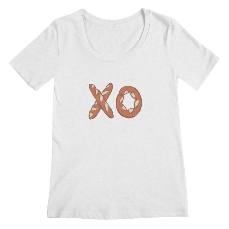 XO Women's Regular Scoop Neck by Matt MacFarland