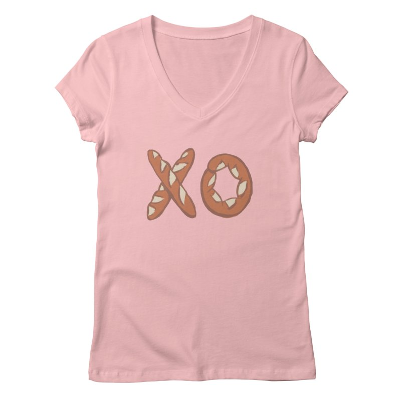 XO Women's Regular V-Neck by Matt MacFarland