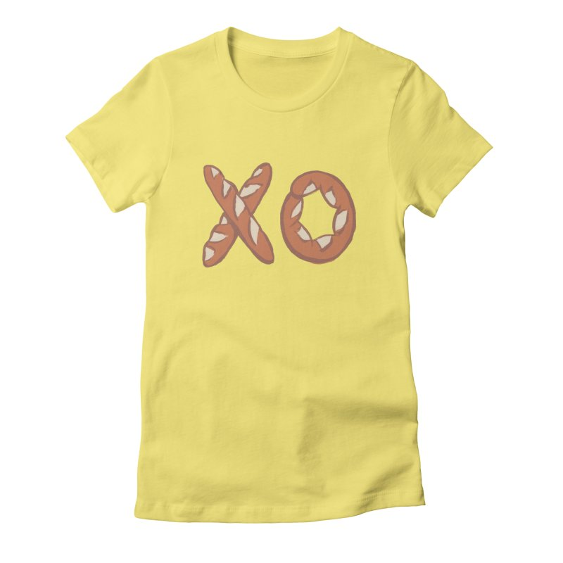 XO Women's Fitted T-Shirt by Matt MacFarland