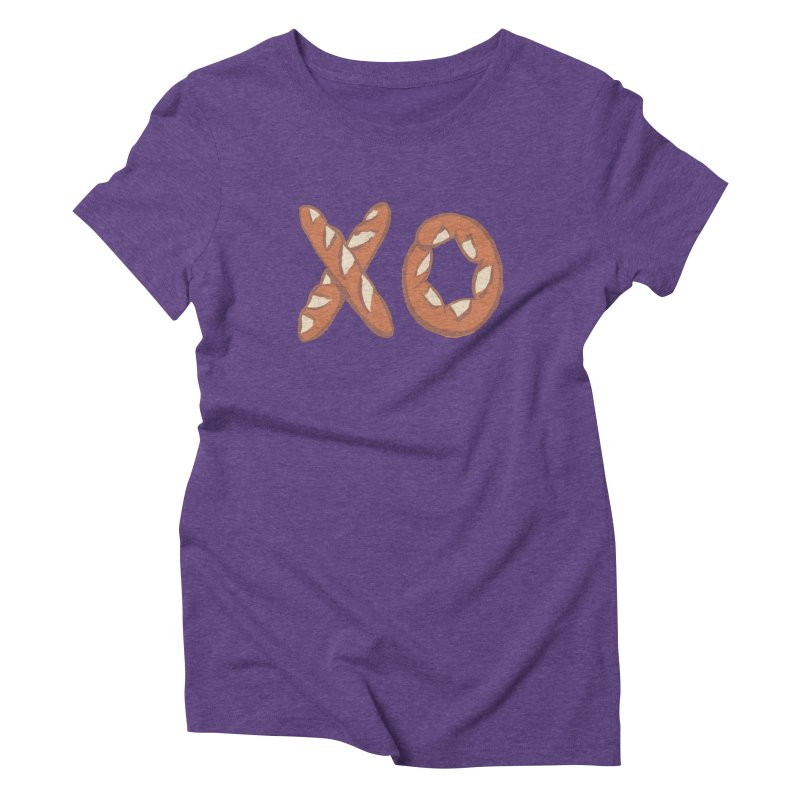 XO Women's Triblend T-Shirt by mattiemac's Artist Shop